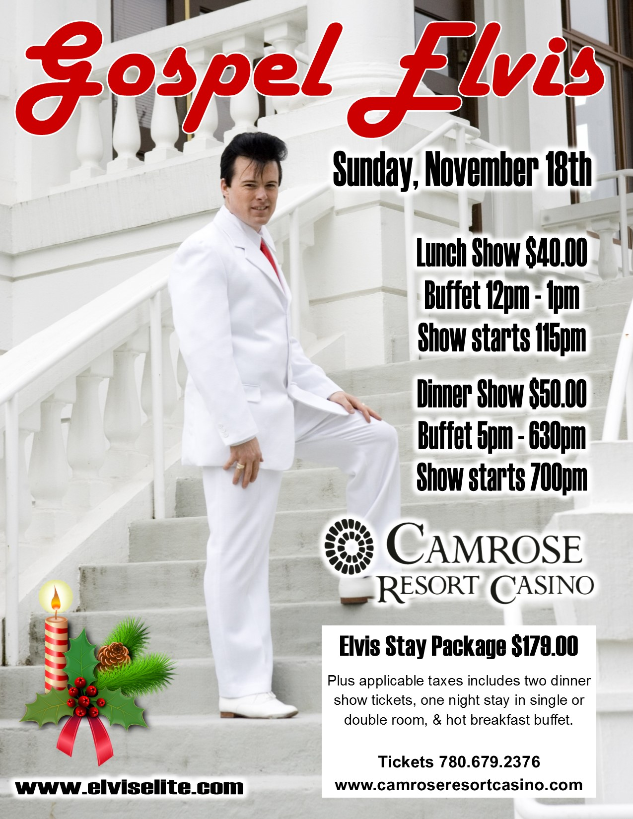 Camrose Casino Events