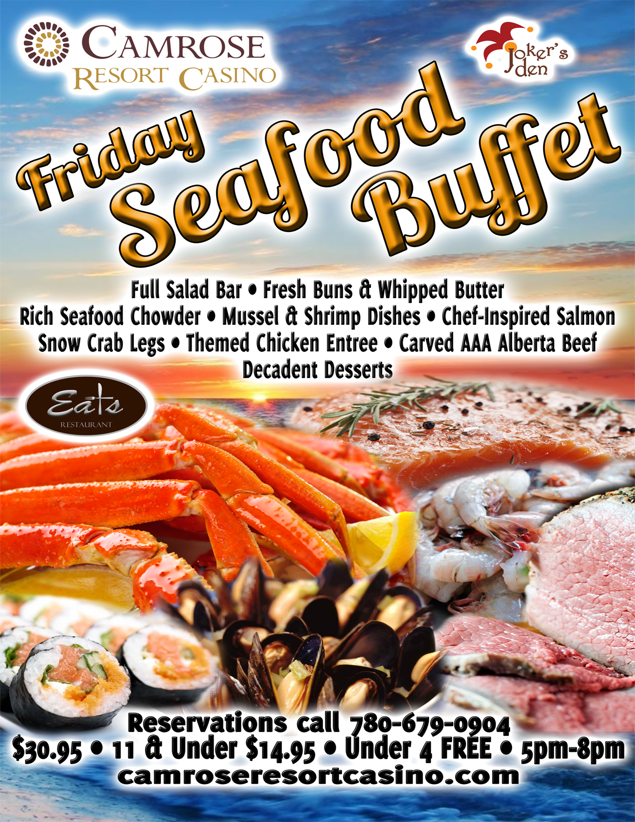 Northern Lights Casino Seafood Buffet